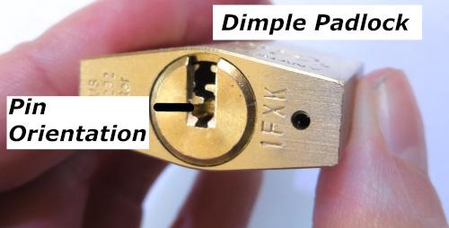 Dimple Lock (Abus 75/30)