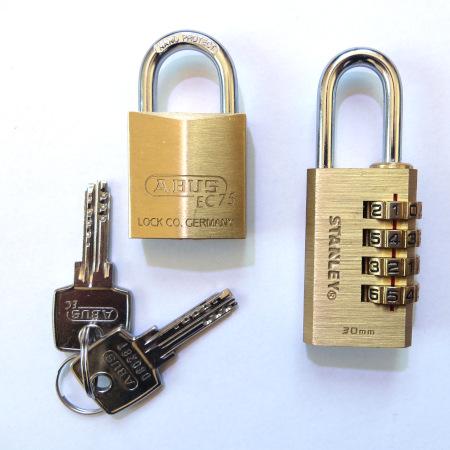 Key VS Combination Padlock